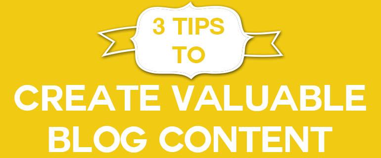 3tips vluable blog