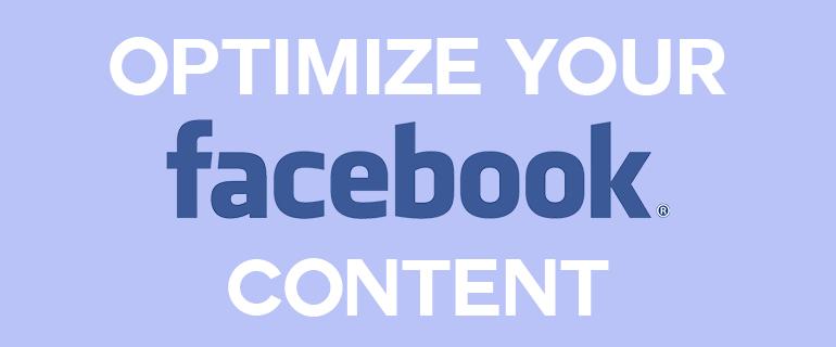 Optimize Facebook