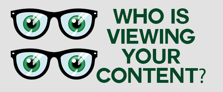 who is viewing content
