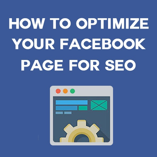how to optimize facebook for SEO