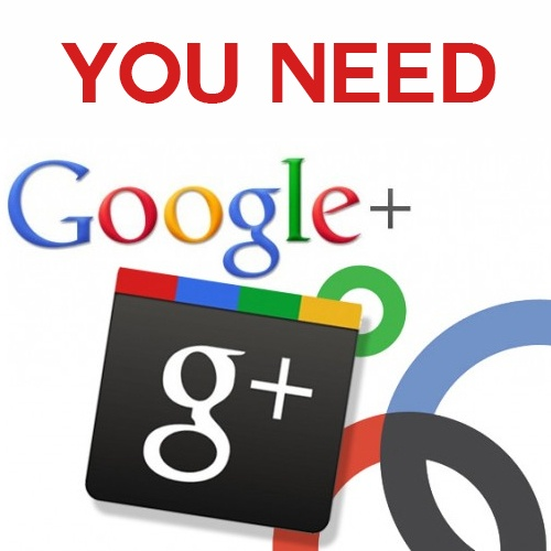 you need g+